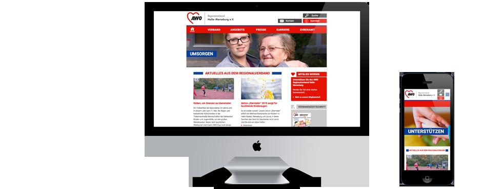 Bild zur Website von AWO Halle-Merseburg